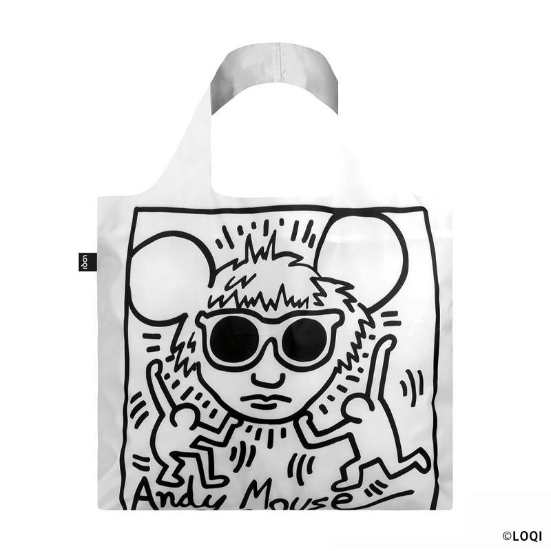 キース・ヘリング トートバッグ [Andy Mouse アンディーマウス]