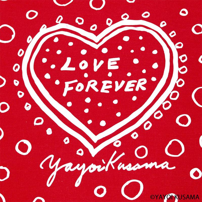 草間彌生 ティータオル 2枚セット [ Love Forever ]