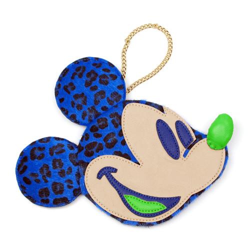 【ディズニー】ミッキーマウス・パッチワークポーチ