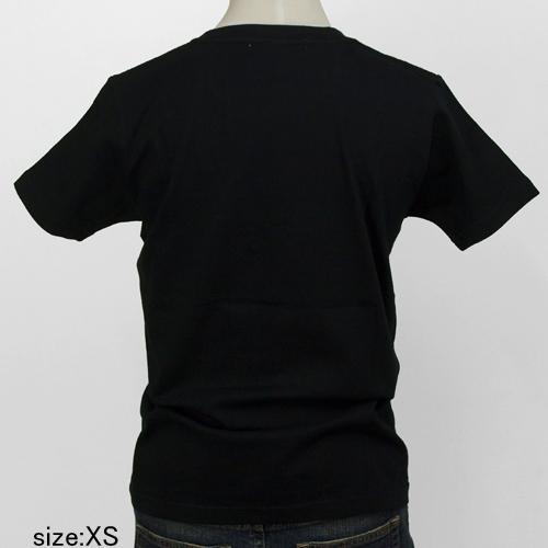 風間サチコ Tシャツ [ニシキゴイン(黒×金)]