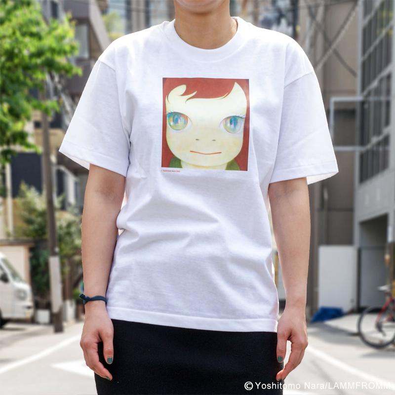 奈良美智 Tシャツ [TIKI TIKI BAMBooooS(ホワイト)]