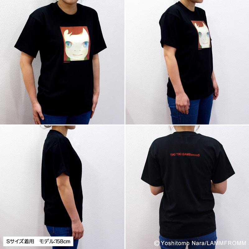 奈良美智 Tシャツ [TIKI TIKI BAMBooooS(ブラック)]