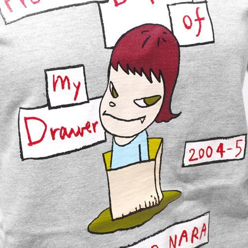 【デッドストック】奈良美智 Tシャツ [From the Depth of My Drawer(グレー)]