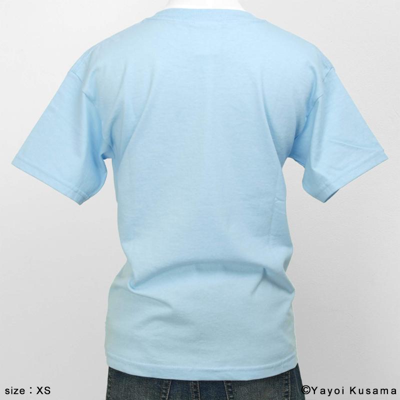 草間彌生  Tシャツ [YAYOI(水色)]