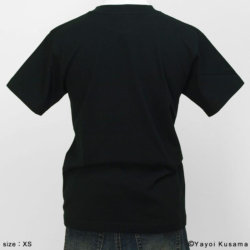 草間彌生  Tシャツ [YAYOI(黒)]