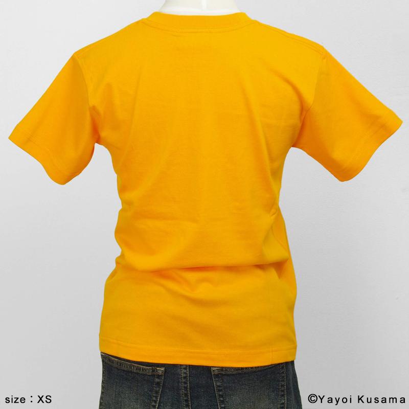 草間彌生  Tシャツ [YAYOI(黄)]