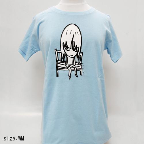 奈良美智 Tシャツ [Bench(ライトブルー)]