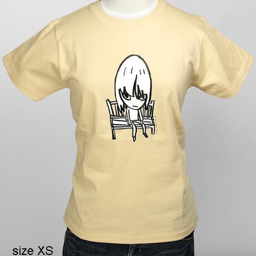 奈良美智 Tシャツ [Bench(ナチュラル)]
