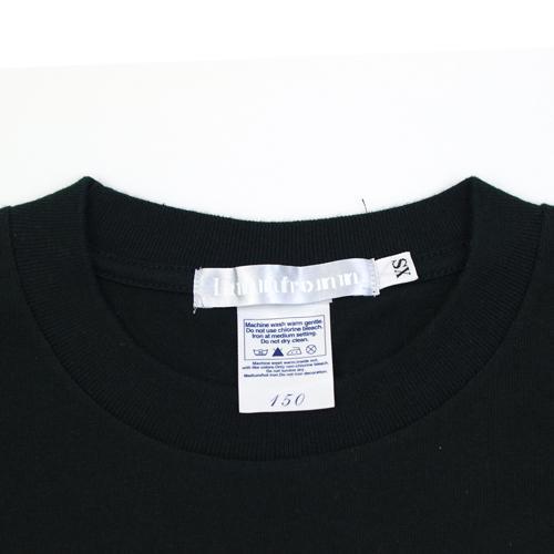 前川栄子 Tシャツ [フクヘン。(ブラック)]