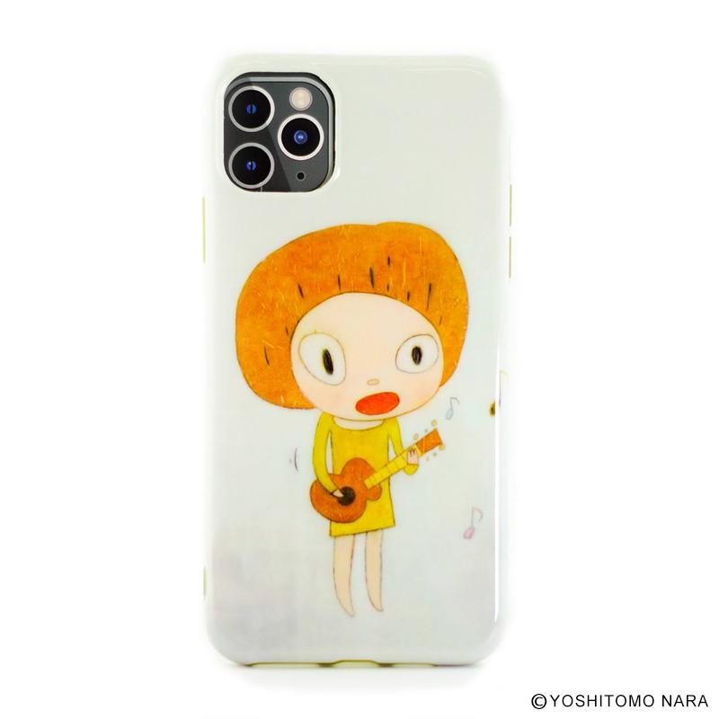 奈良美智 iPhone 11 Pro Max ケース [ Guitar Girl ]