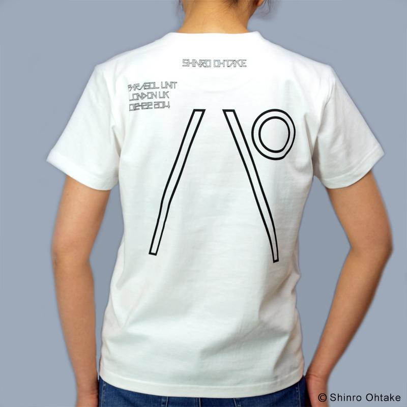 大竹伸朗 Tシャツ [パラソルユニット(白)]