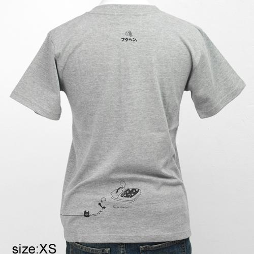前川栄子 Tシャツ [フクヘン。(グレー)]