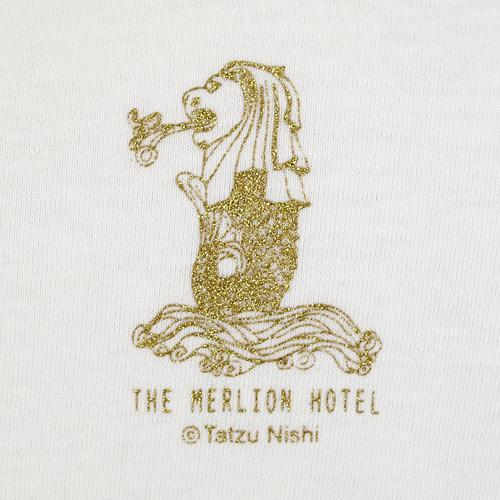 西野達 Tシャツ [マーライオン・ホテル]