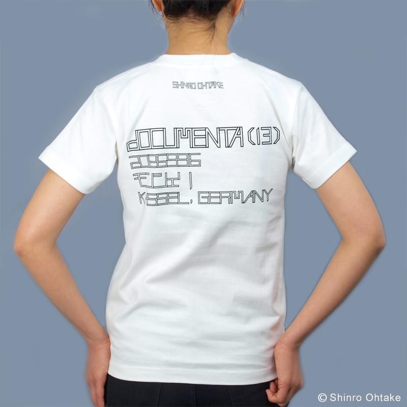 大竹伸朗 Tシャツ [ドクメンタ(ホワイト)]