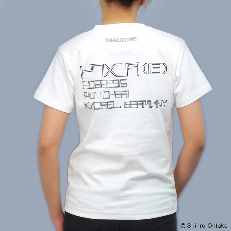 大竹伸朗 Tシャツ [カッセル(ホワイト)]