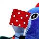 【モダンペッツ】ビリードルフィン ぬいぐるみ ブルー