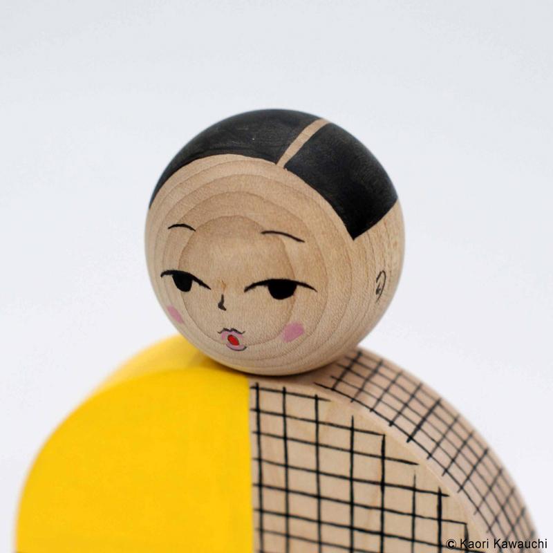 河内かおり こけし 作品 [untitled(C-2)]