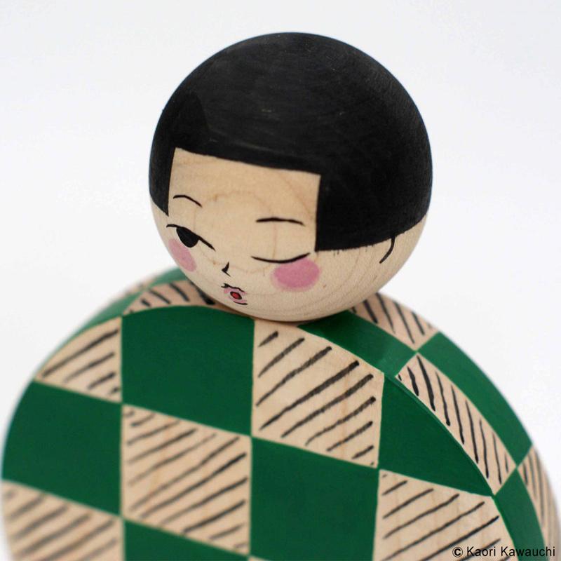 河内かおり こけし 作品 [untitled(C-3)]