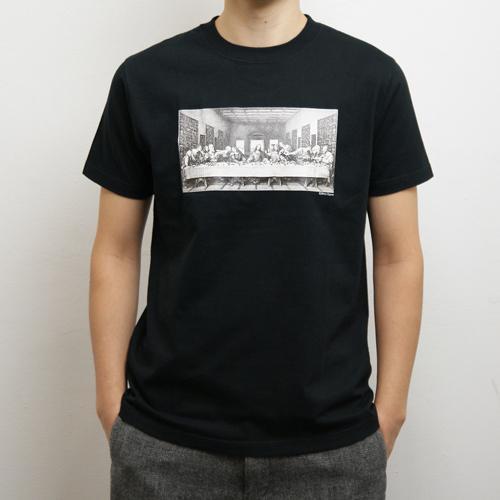 小川信治 Tシャツ [最後の晩餐 ユダ(ブラック)]
