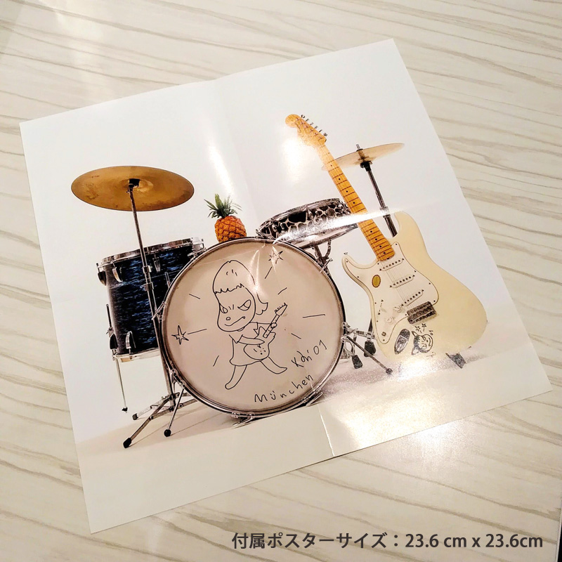 奈良美智 アートワーク CD [cloudy,later fine/TIKI TIKI BAMBooooS]