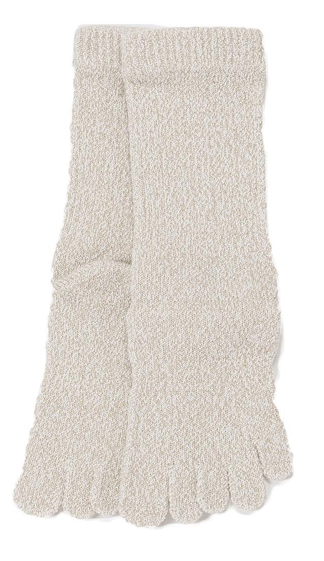 1150ユビレッグ スポーツ厚手5本指ソックス-S(23-25cm)M(25-27cm)