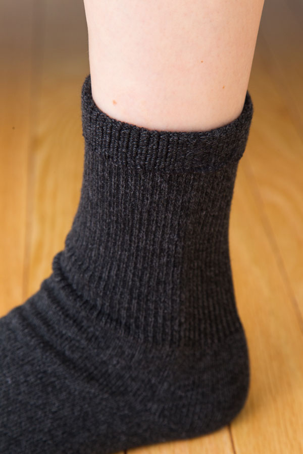 【6120】ゆったり杢調5本指ソックス(5本指靴下)(S・M・L)