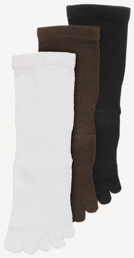 5本指ソックス シルクはき口ゆったりS(22-24cm)・M(24-26cm)【8710】