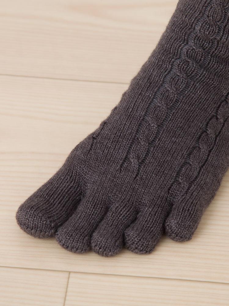 9520 足底厚手3次元ケーブル S(22-24�) 5本指ソックス 五本指靴下