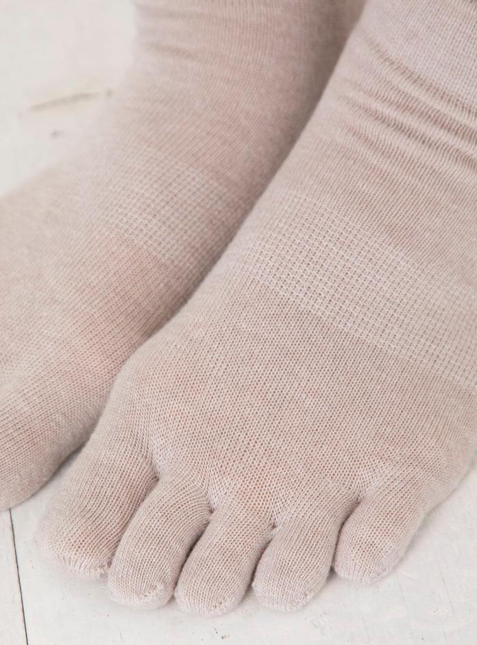 7260 杢ゆったり 5本指ソックス (5本指靴下)S(22-24cm)M(24-26cm)