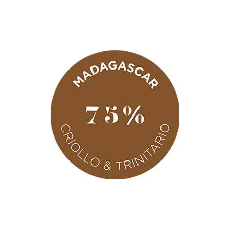 クリュ デクセプション 75% マダガスカル - クリオロ & トリニタリオ