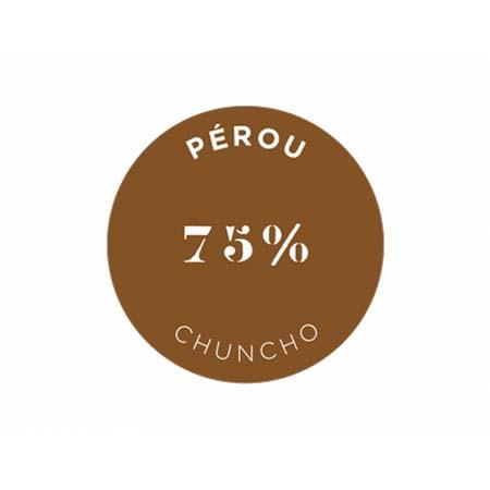 クリュ デクセプション 75% ペルー - チュンチョ