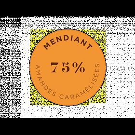マンディアン ノワール 75% アーモンド・キャラメリゼ