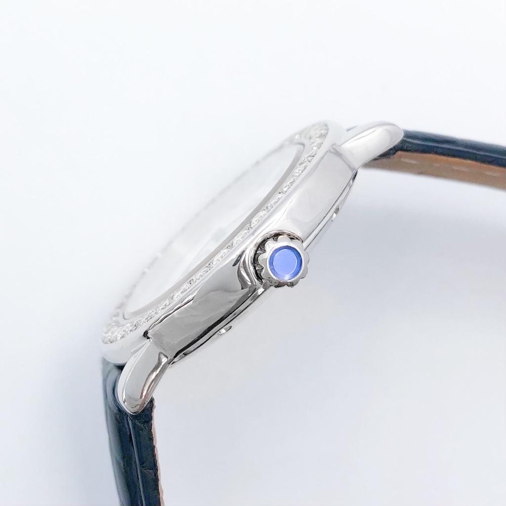 CARTIER / ロンド シルバー スモールセコンド ダイヤ