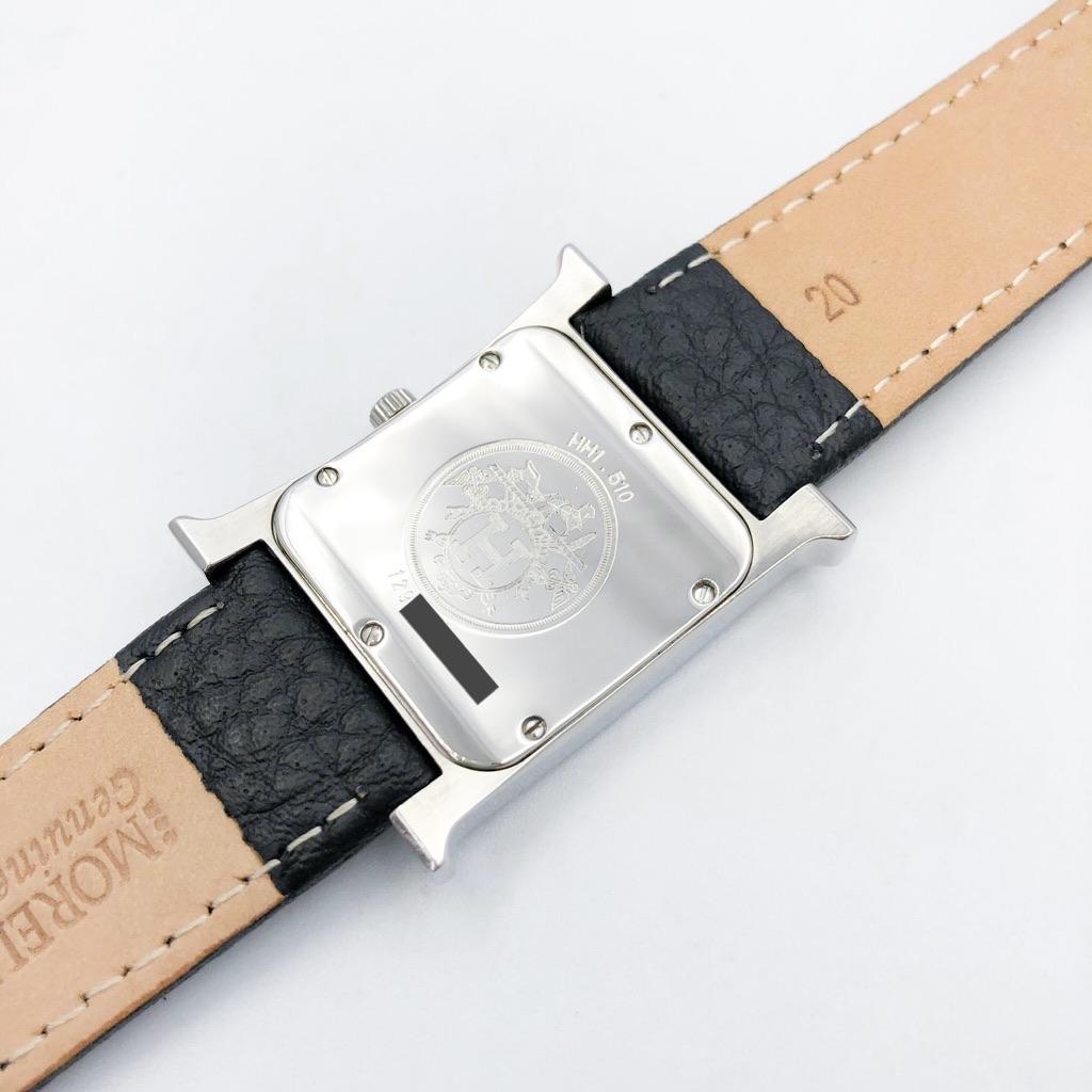 HERMES / Hウォッチ シルバー メンズ ダイヤ