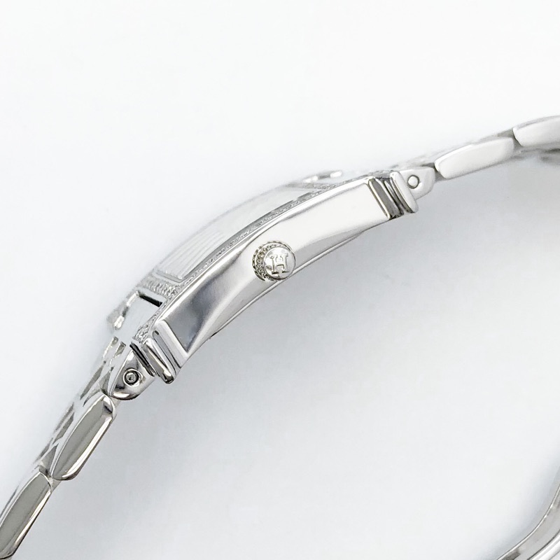HERMES / Hウォッチ ブレス シルバー ダイヤ