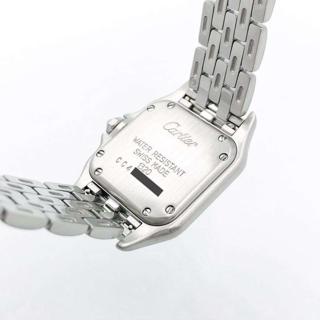 CARTIER / パンテール SM シルバー 1重ダイヤ