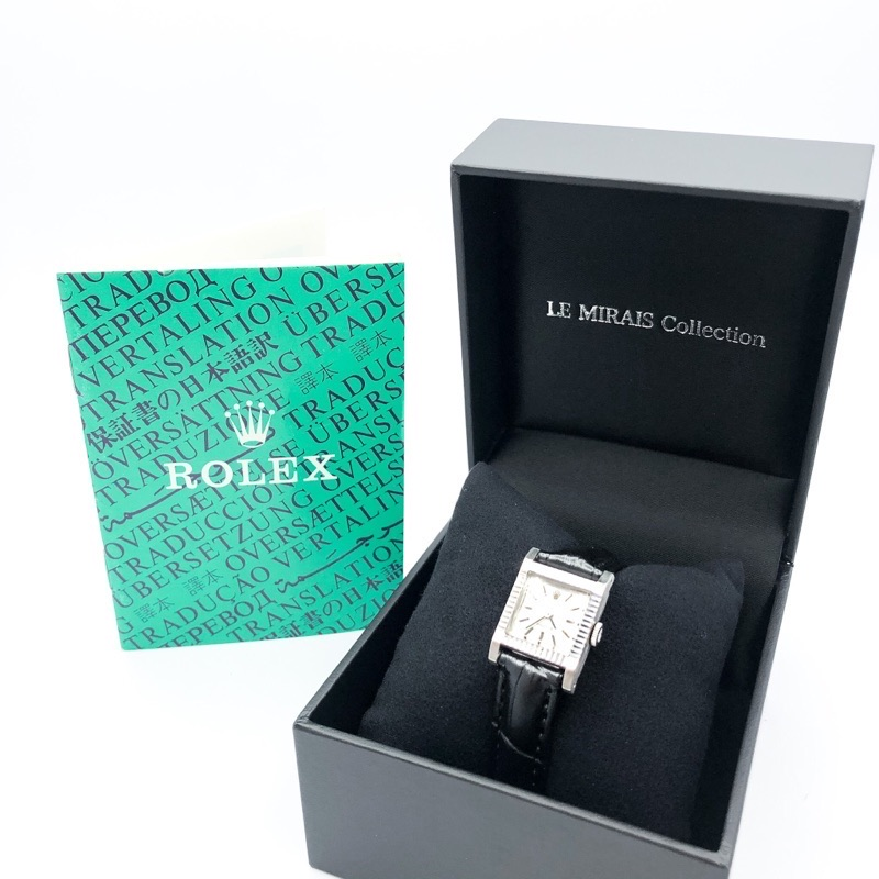 ROLEX / プレシジョン K18WG スクエア