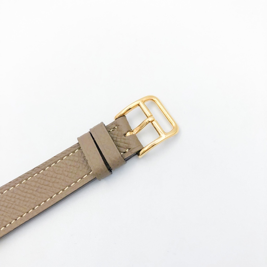 HERMES / Hウォッチ ゴールド ダイヤ