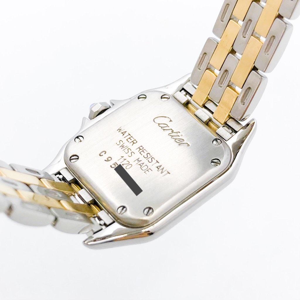 CARTIER / パンテール SM 2ロウ 1重ダイヤ