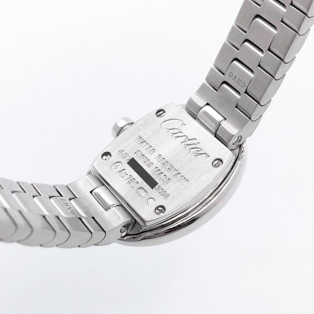 CARTIER / ミニベニュワール 新型 K18WG 純正ダイヤ