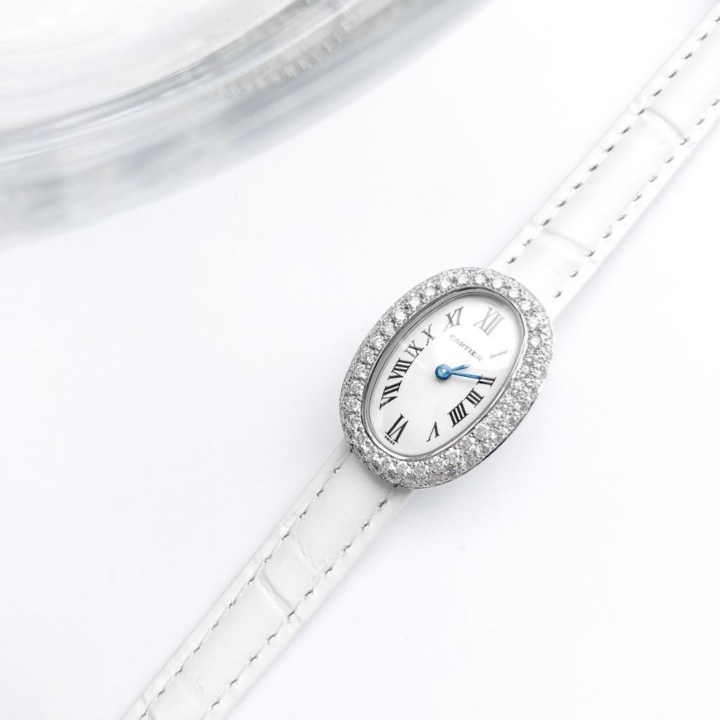 CARTIER / ミニベニュワール K18 WG ダイヤ