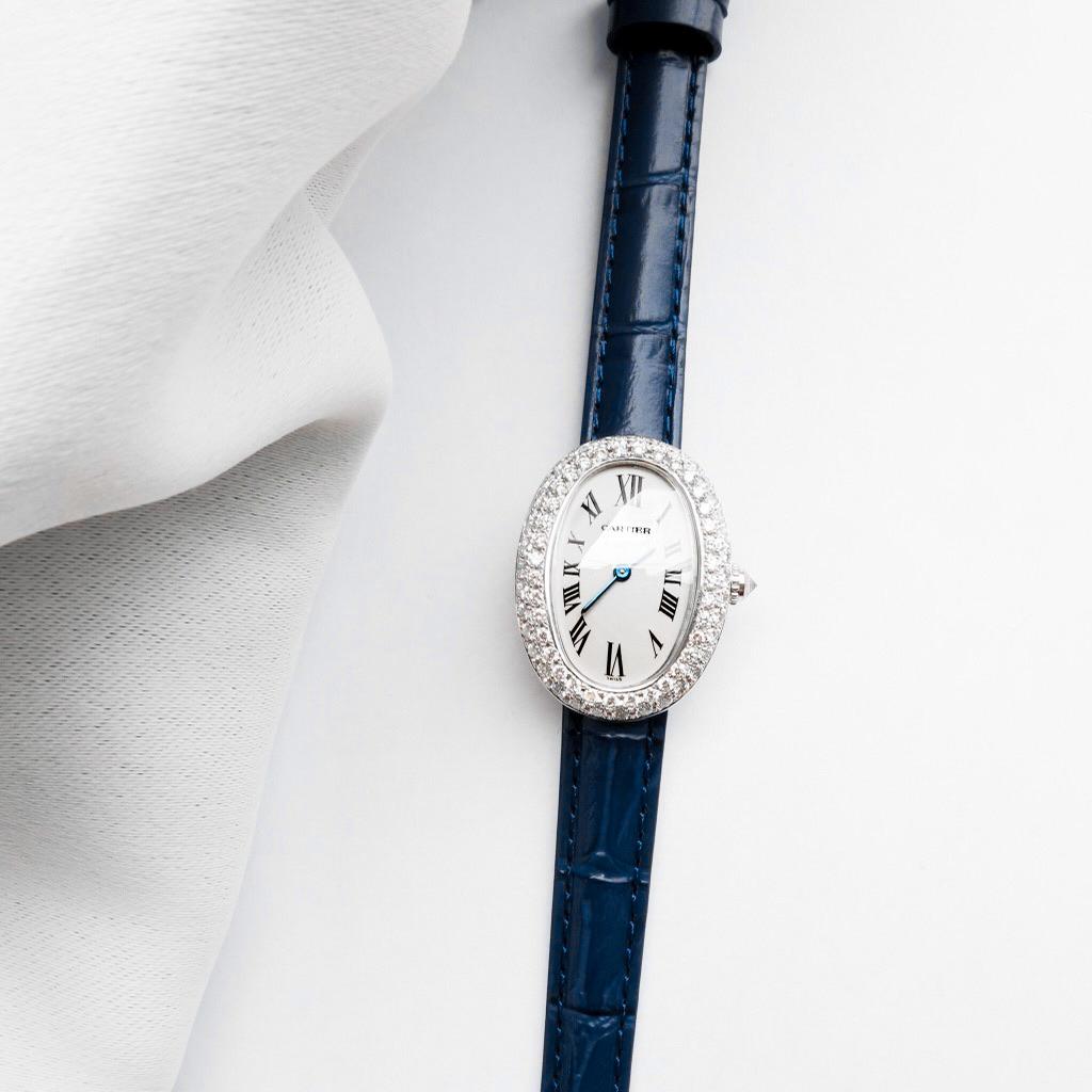 CARTIER / ベニュワール K18 WG ダイヤ