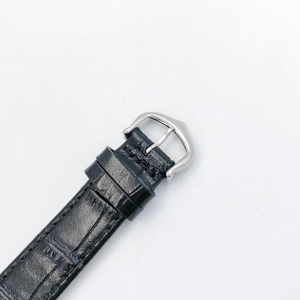 CARTIER / タンクフランセーズ K18 WG レザー ダイヤ