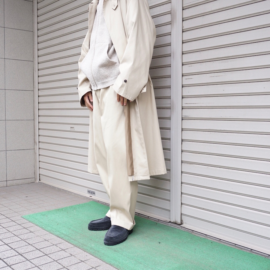 URU(ウル)   20FCCT02 / EASY PANTS  (イージーパンツ) - BEIGE
