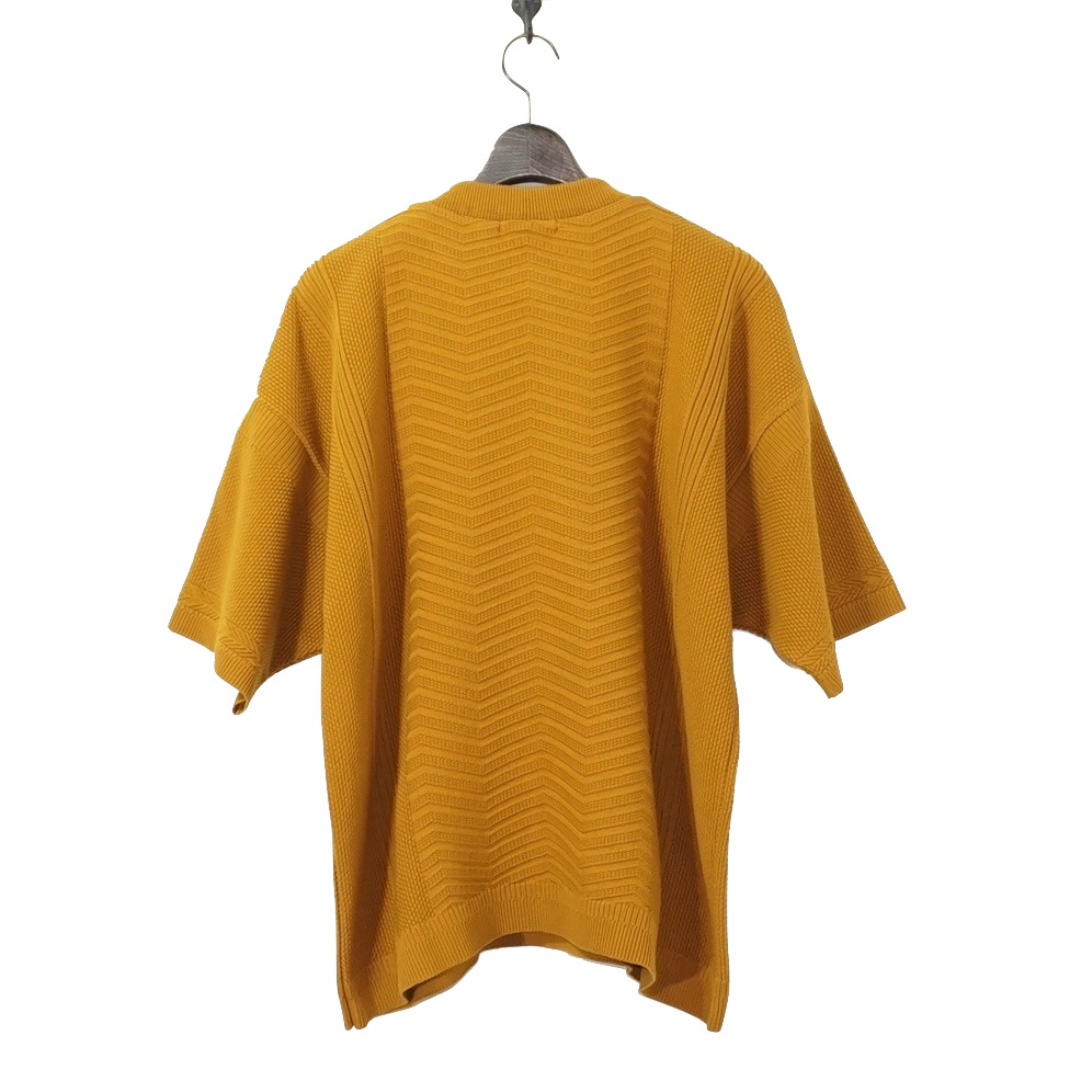 YASHIKI(ヤシキ)   Minegumo Knit (ミネグモ ニット)-MUSTARD