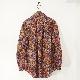 AiE(エーアイイー) | Painter Shirt - Marble Batik Print (ペインターシャツ - マーブルバティックプリント) - Multi Color