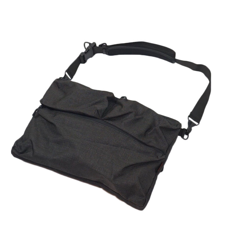 bagjack (バッグジャック) | hunting shoulder bag OC (ハンティング ショルダーバッグ)-grid - gray