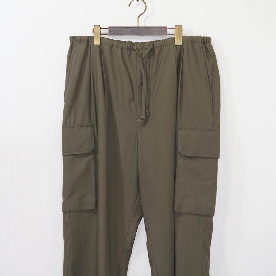 MAATEE&SONS (マーティーアンドサンズ)   ARMY PANTS (アーミーパンツ) - 硫化OD
