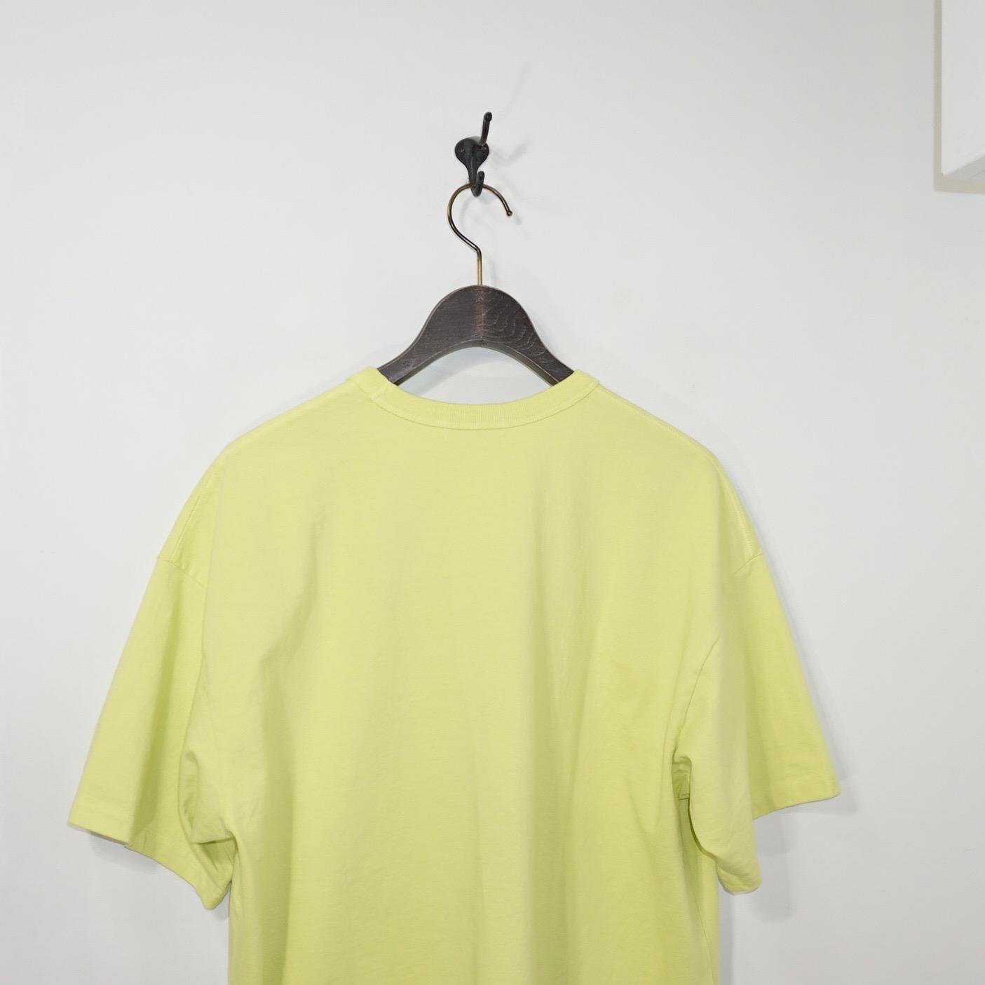 tone(トーン)   3 STICHES TEE(3ステッチTシャツ)- YELLOW