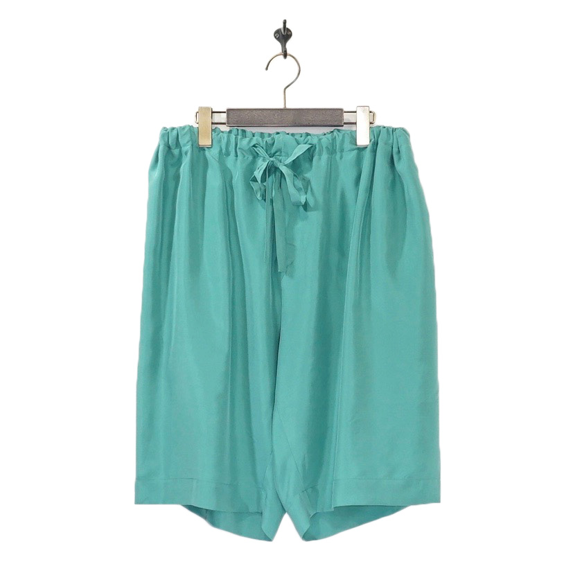 URU(ウル) | EASY SHORT PANTS (イージーショートパンツ) - GREEN